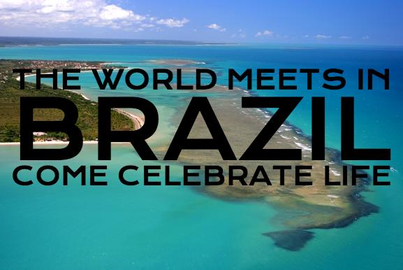 Il mondo si incontra in Brasile.